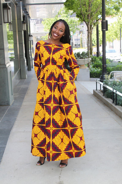 Trinidad Princess Maxi Dress (Final Sale)