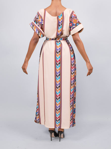 Kola Tribal Maxi Dress
