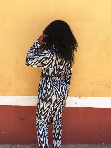 Monochromo Jumpsuit (FINAL SALE)