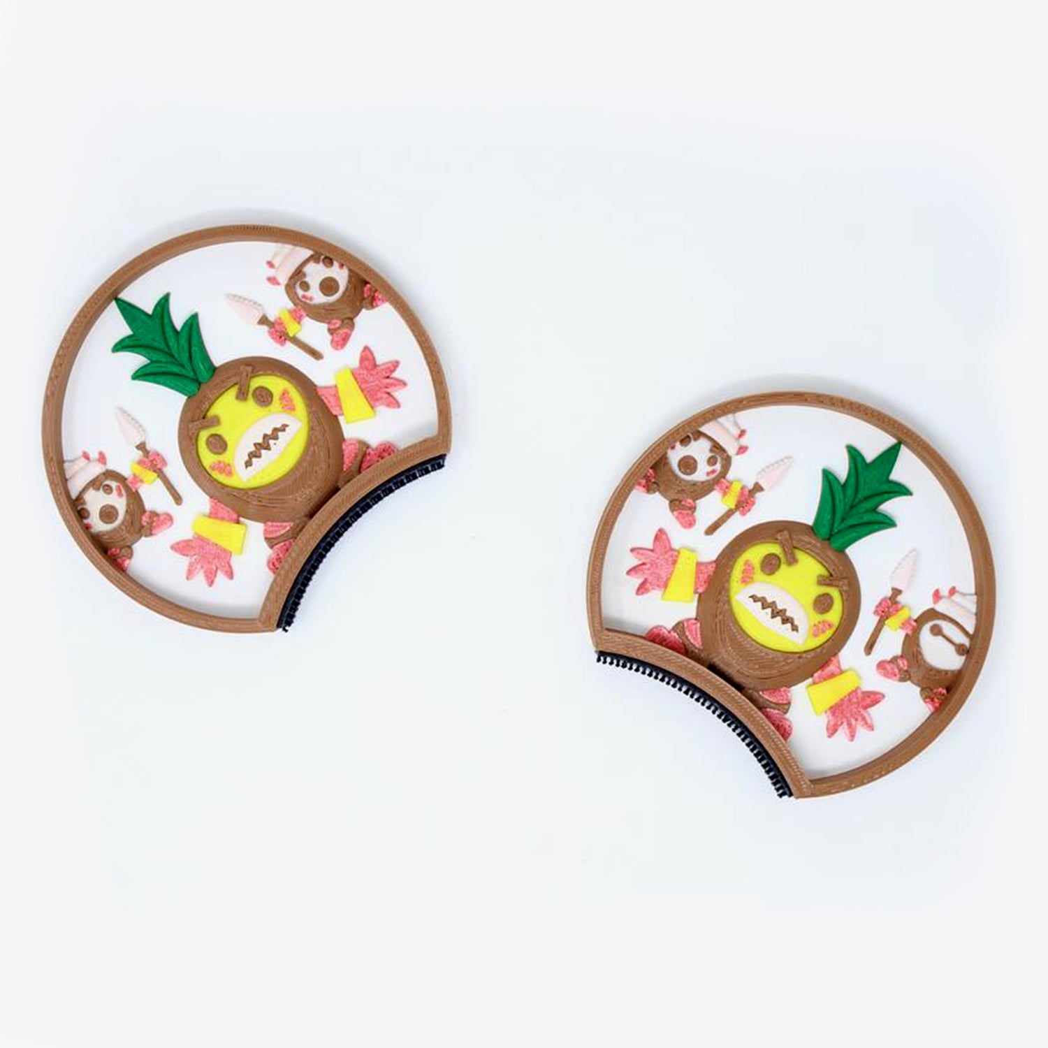 picture about Kakamora Printable called Kakamora Coconuts Interchangeable Ears