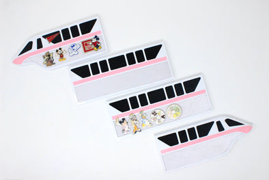 Monorail Pin Board Set