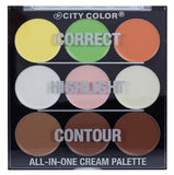City Color All-In-One Cream Palette