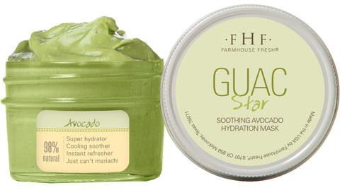 Farmhouse Fresh Guac Star Revitalizing Avocado Hydration Mask
