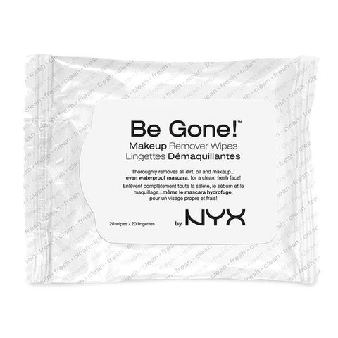NYX - Be Gone! Makeup Remover Wipes