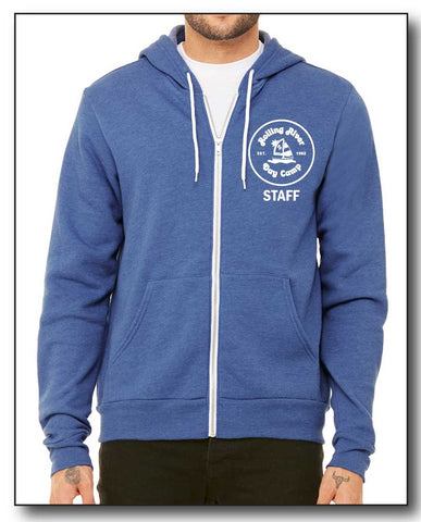 STAFF ONLY- FULL ZIP SWEATSHIRT