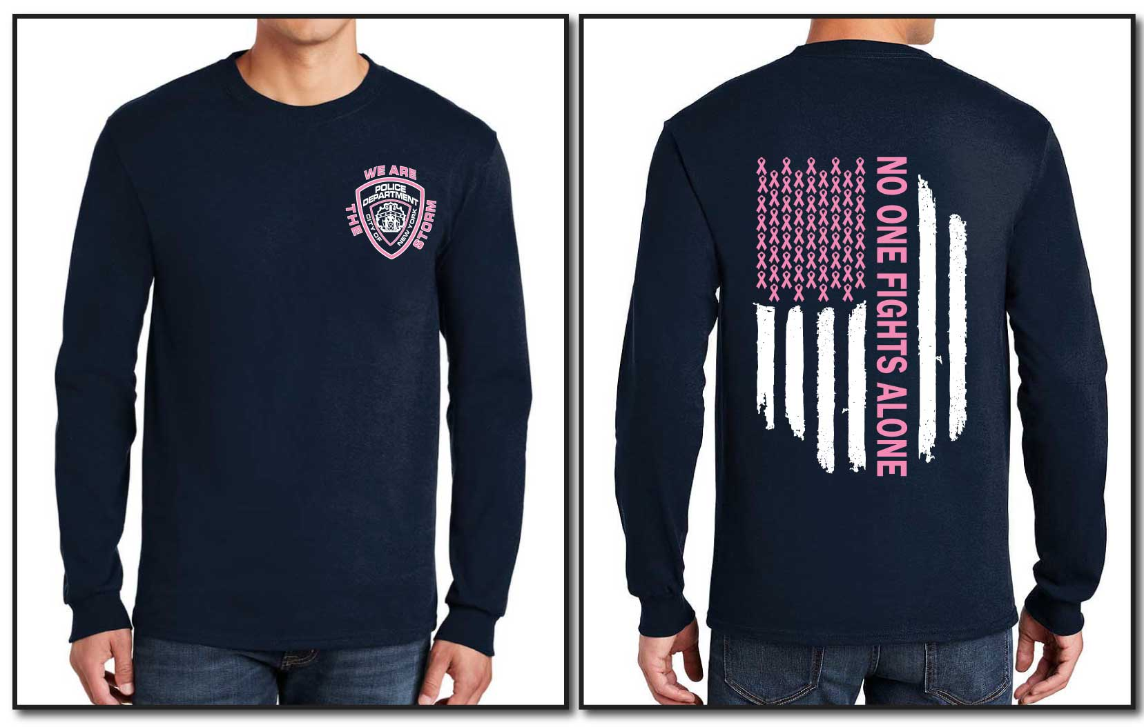PERULLO FUNDRAISER LONG SLEEVE TEE