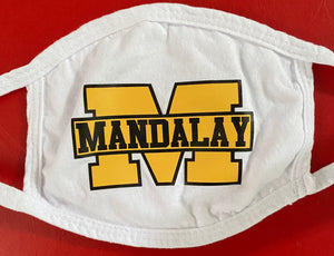 WHITE MANDALAY MASK