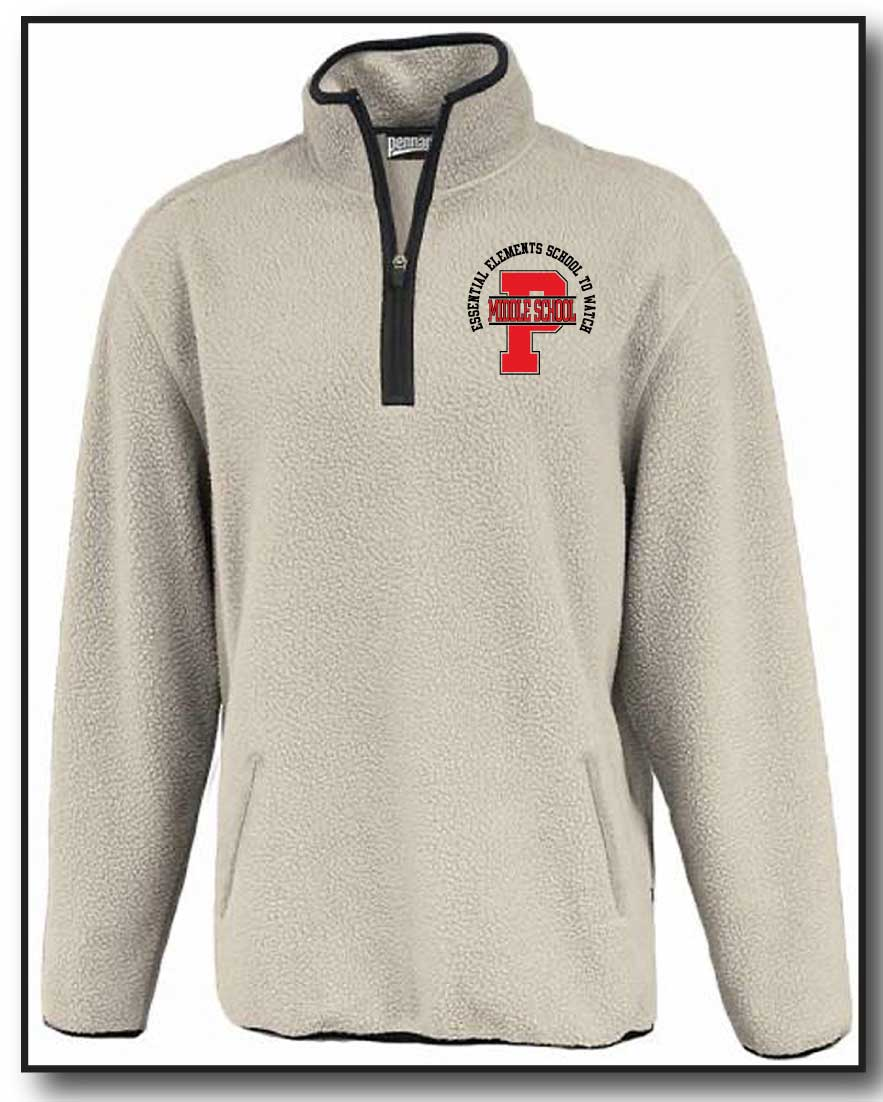 PMS FACULTY 2020- 1/4 ZIP SHERPA