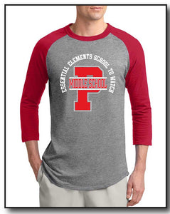 PMS FACULTY 2020- BASEBALL TEE