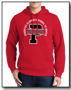 PMS FACULTY 2020 RED HOODIE