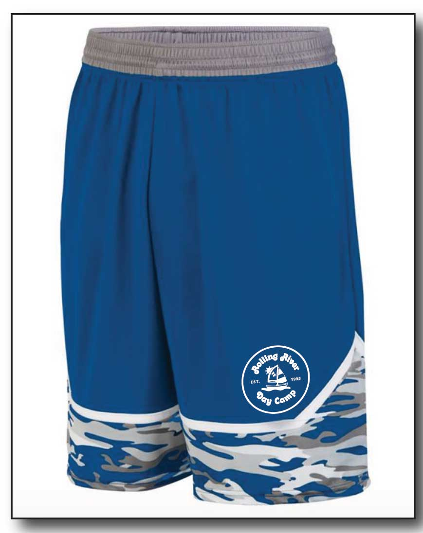 ROLLING RIVER- BOYS CAMO SHORTS