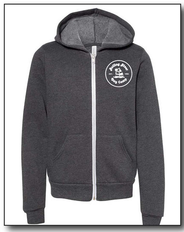 ROLLING RIVER GREY FULL ZIP