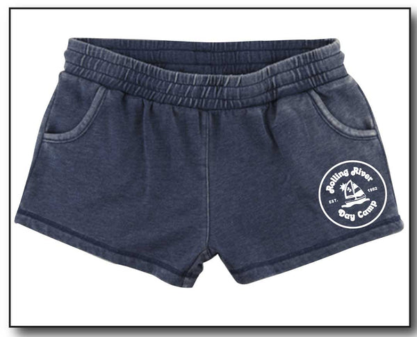 ROLLING RIVER GIRLS STYLE SWEAT SHORTS