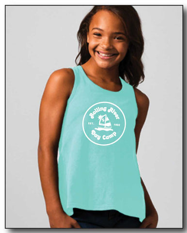 ROLLING RIVER GIRLS KNOTTED TANK TOP