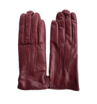 Bordeaux Leather Gloves
