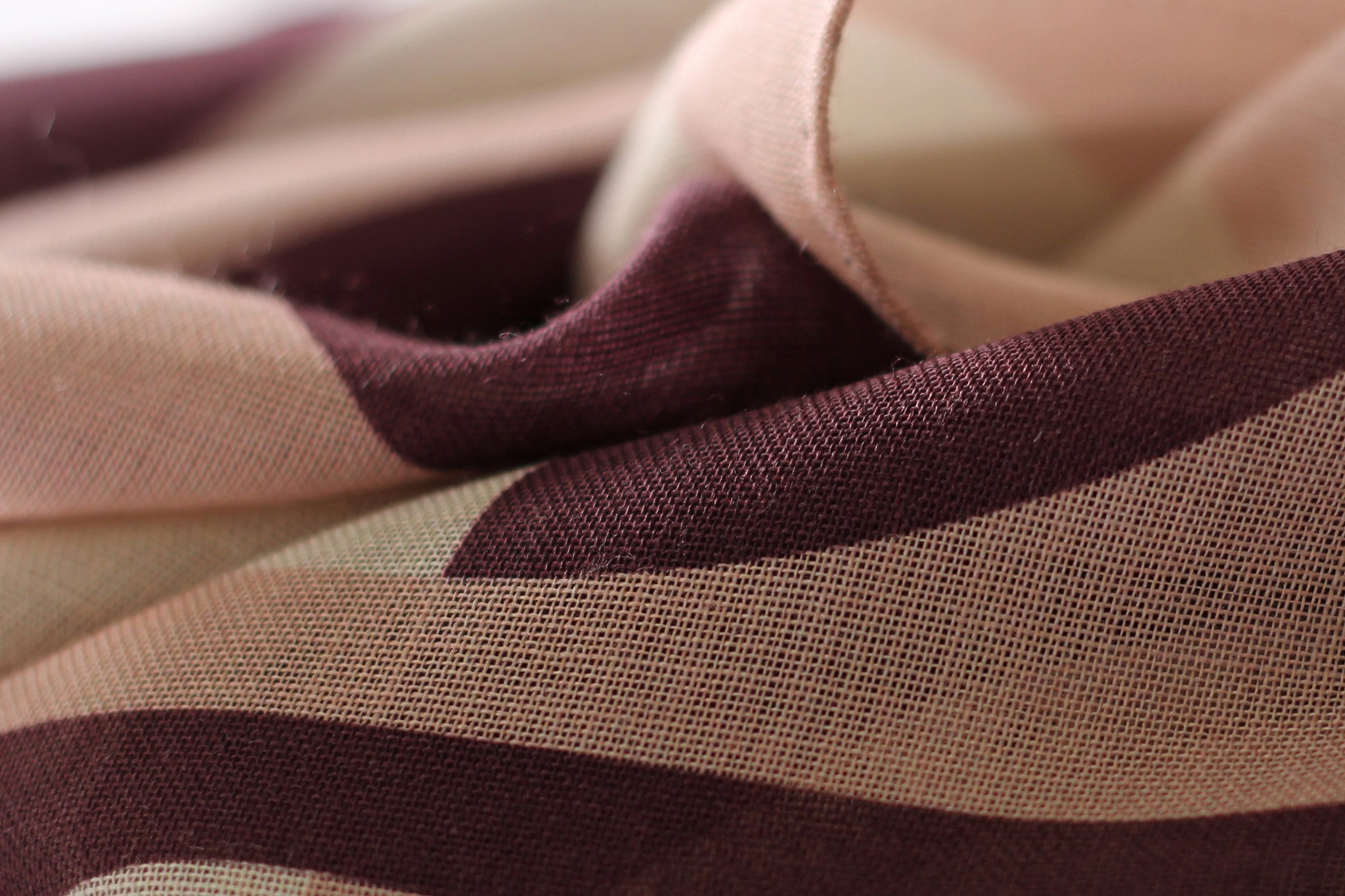 Rose Olson wool silk scarf texture made in Italy