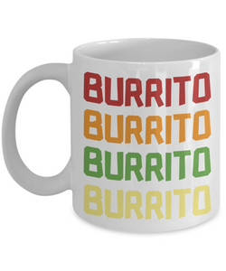 Mug Town - Mug Town - Burrito Lover - Coolest Coffee Cups