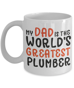 Mug Town - World's Greatest Plumber - Coolest Coffee Cups
