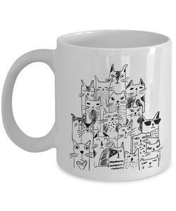 Mug Town - Crazy Cat Lady - Coolest Coffee Mug