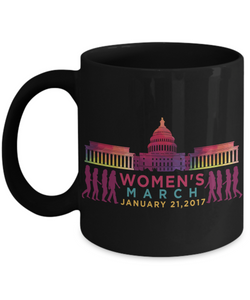 Mug Town - Women's March 2017 - Coolest Coffee Mug