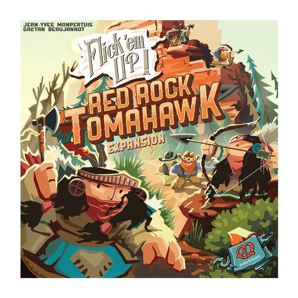 Flick 'em Up!: Red Rock Tomahawk - Game Detective