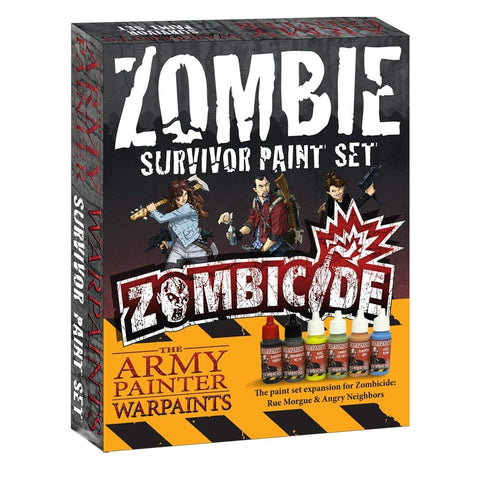The Army Painter Warpaints: Zombicide Survivor Paint Set - Game Detective