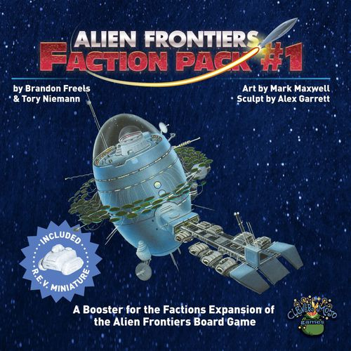Alien Frontiers: Faction Packs - Game Detective