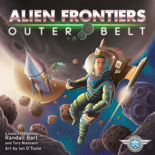 Alien Frontiers: Outer Belt - Game Detective