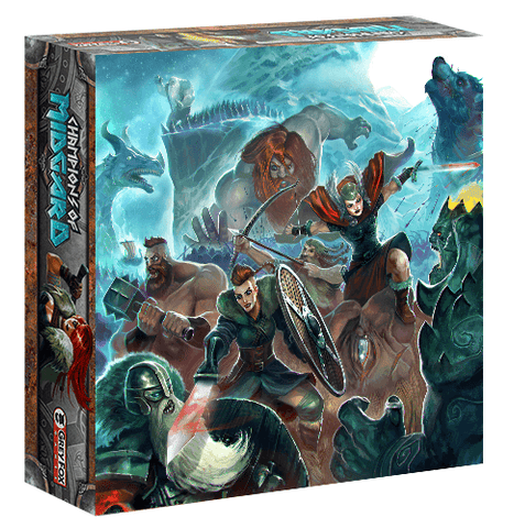 Champions of Midgard: The Dark Mountains and Valhalla (Jarl Edition)