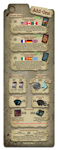Deception: Undercover Allies Kickstarter Exclusives Promo Bundle - Game Detective