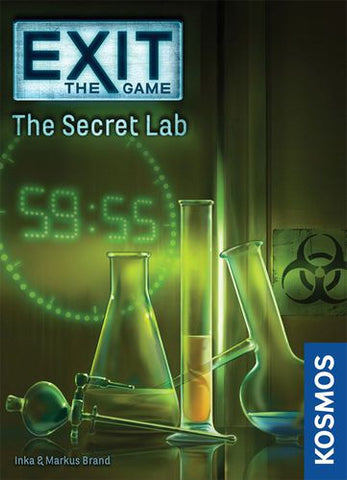 Exit: The Game – The Secret Lab - Game Detective