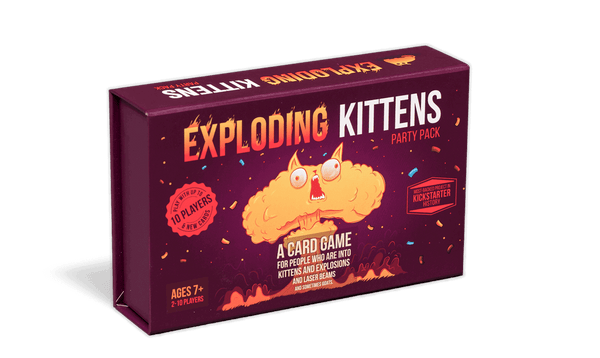 Exploding Kittens Party Pack - Game Detective