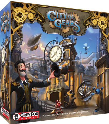 City of Gears: Founders Edition (Kickstarter Special) - Game Detective