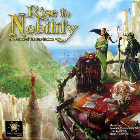 Rise to Nobility: Deluxe Ed. (Pre-Loved)