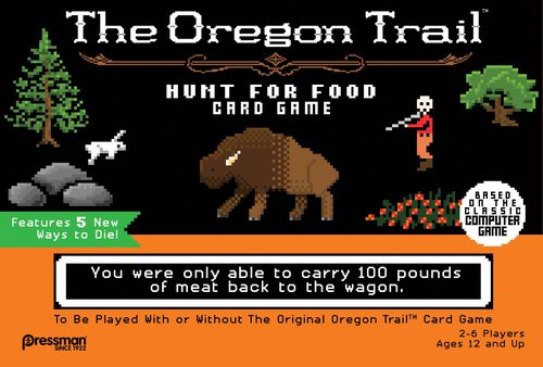 The Oregon Trail: Hunt for Food Card Game - Game Detective