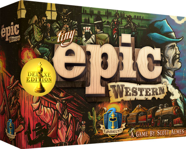 Tiny Epic Western Deluxe Edition - Game Detective