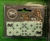A Song of Ice and Fire Dice Set - Game Detective