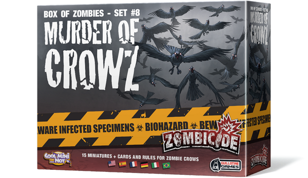 Zombicide: Box of Zombies – Set #8: Murder of Crowz - Game Detective