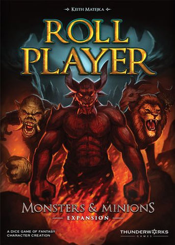 Roll Player: Monsters & Minions Expansion - Game Detective