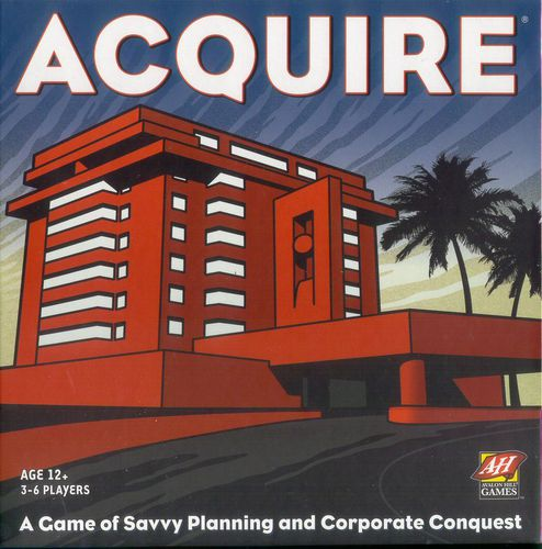 Acquire (2nd Ed) - Game Detective