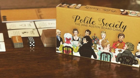Polite Society: The Jane Austen Board Game Kickstarter - Game Detective