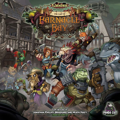 Wander: The Cult of Barnacle Bay with KS Exclusive Bonus Box - Game Detective