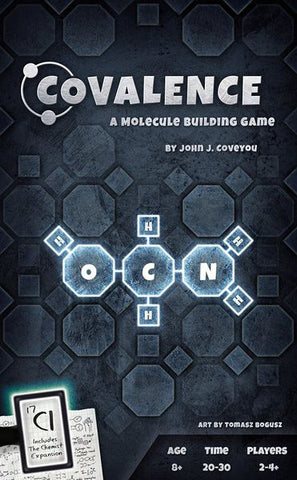 Covalence: A Molecule Building Game - Game Detective