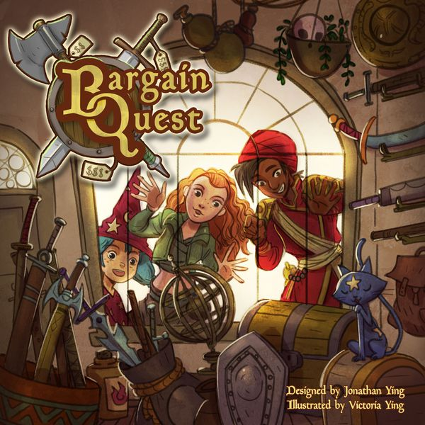 Bargain Quest (2nd Printing) with Free Game Shop Board Promo - Game Detective