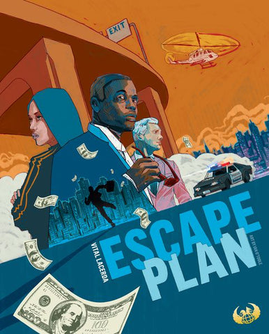 Escape Plan Kickstarter with Upgrade Pack - Game Detective