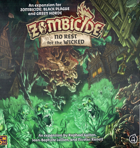 Zombicide: Green Horde – No Rest for the Wicked + Liam KSE - Game Detective