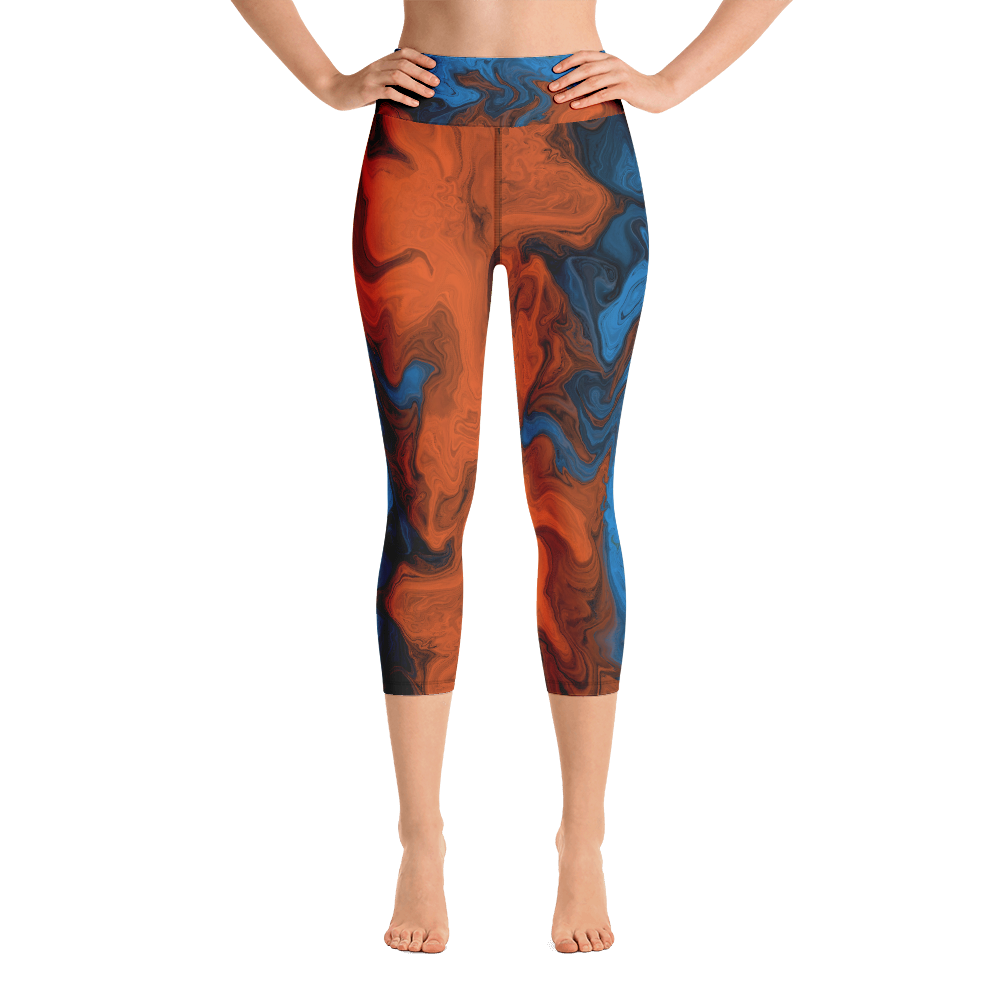 Splash Me Yoga Capri Leggings