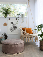 Vegan Leather Pouf /  Ottoman (inc gst) as seen on Oh.eight.Oh.nine blog.