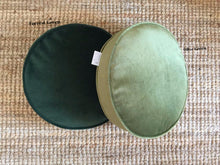 Round Velvet Scatter Cushion 20 Colours  ( inc gst)