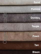 Vegan Leather headboard Cushion 12+ colours 3 sizes